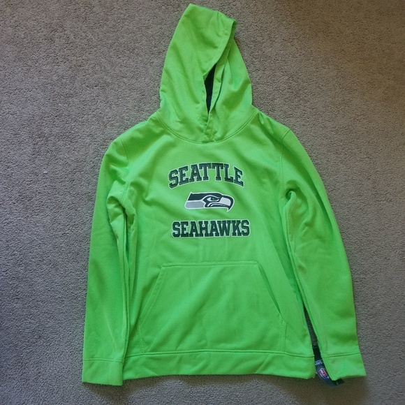 seahawks lime green sweatshirt